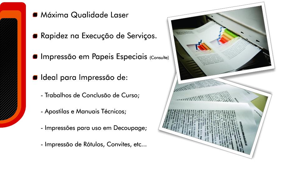 Impressão laser